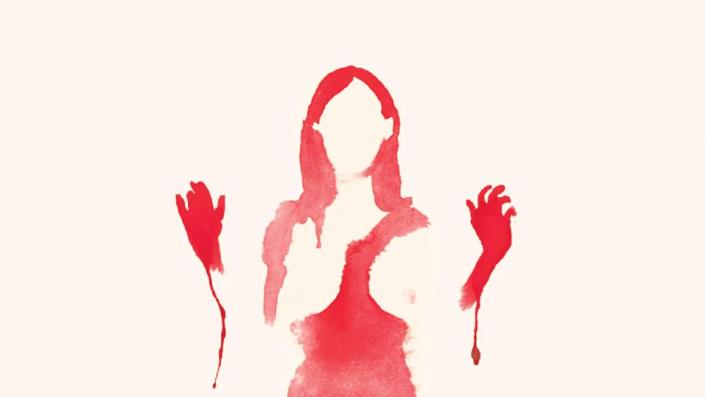 woman, blood