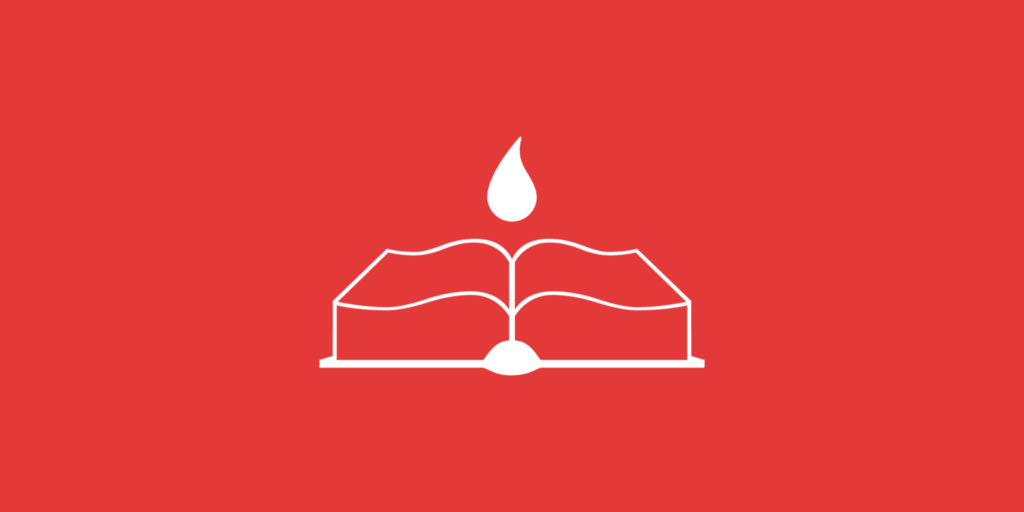 book, pages, blood, period, red