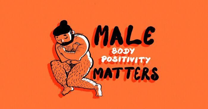 male body positivity, beauty standards, men